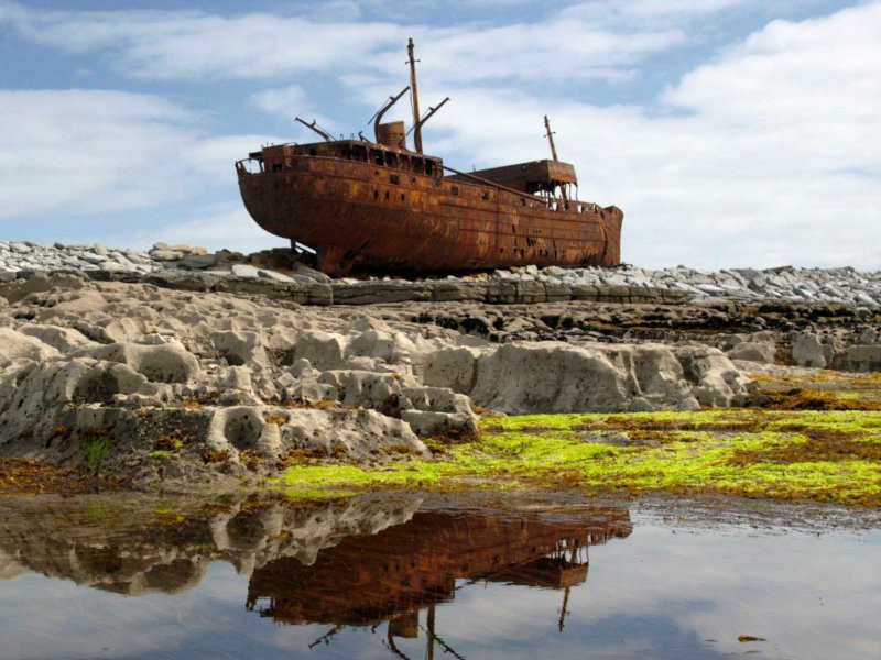 Plassy Shipwreck Inisheer (credit: Business Insider)