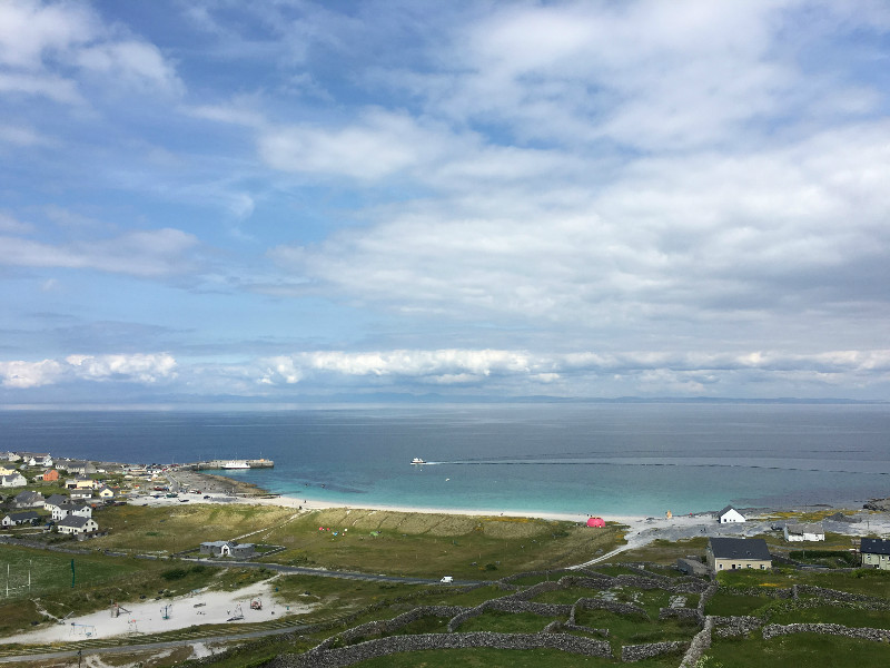 View of Inis Oírr from the Lighthouse